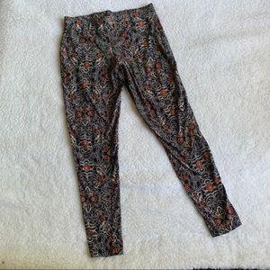 TORRID Floral Print Plus Size Leggings Size 1X